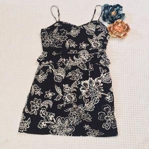 American Eagle Sun/Party Dress SZ 8 Black/White
